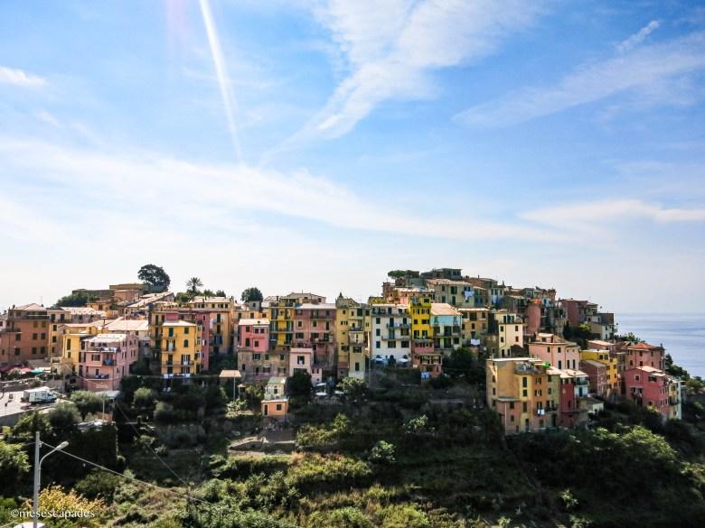 Corniglia, un des villages les plus colorés de cirque Terre
