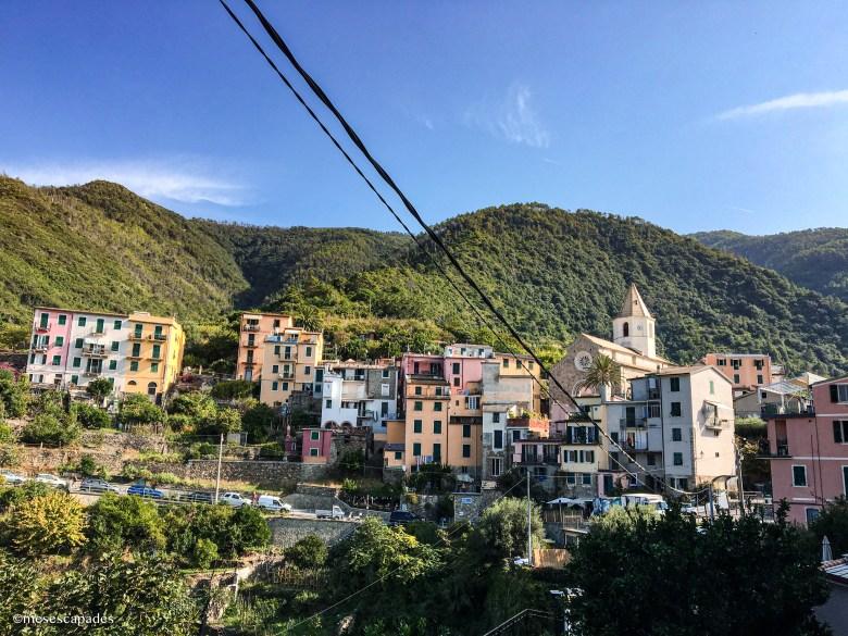 Corniglia, une ville jolie perchée en hauteur