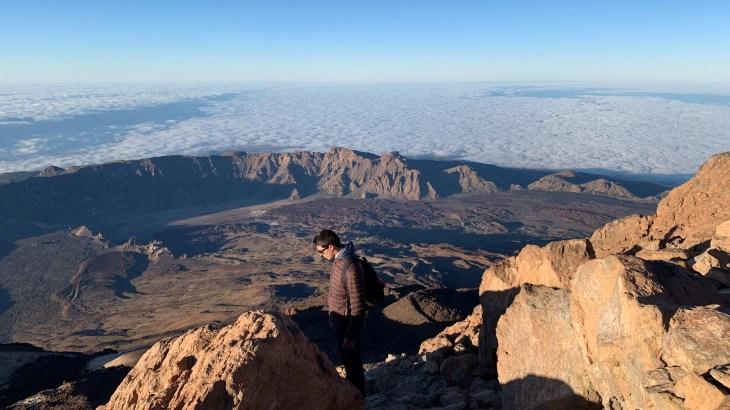 Randonnées à Tenerife : vue sur le parc du Teide après un trek nocturne