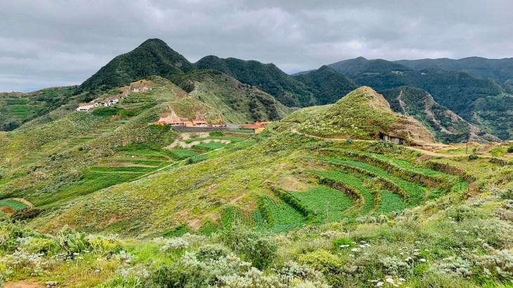 Randonnées à Tenerife : balade à travers les terrasses en culture de Chimanada, une impression du Pérou !
