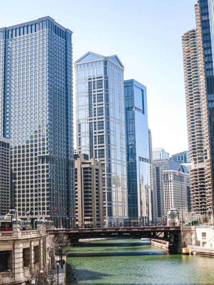 Les buildings de Chicago
