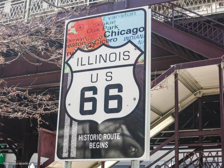 Route 66 Begin