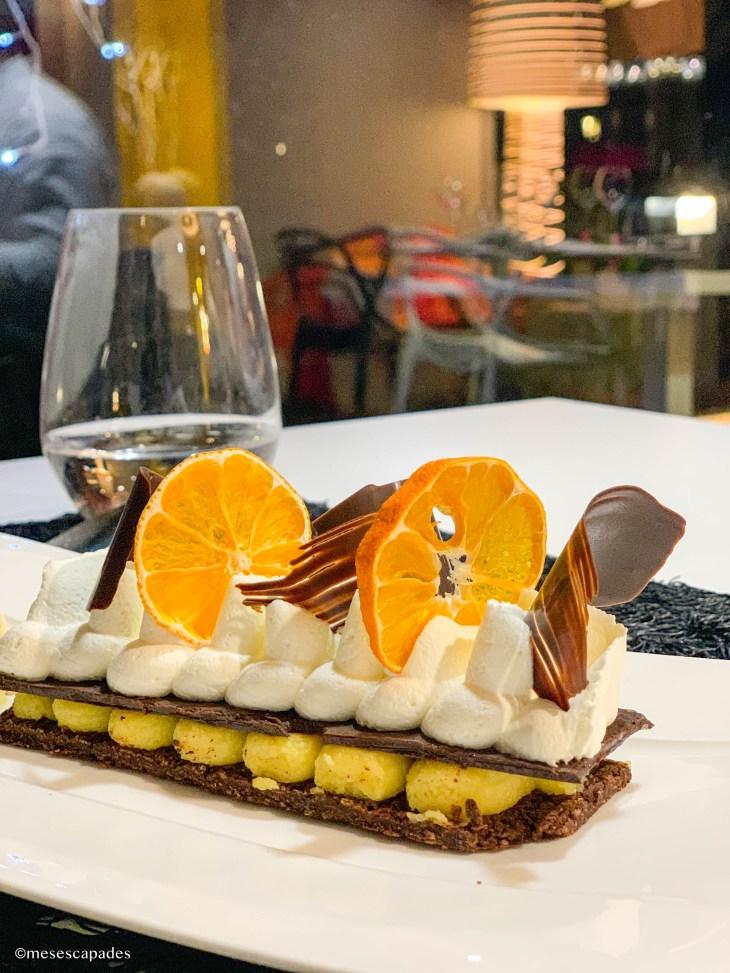 Chocolat, mandarine et gingembre - Lift, Orléans