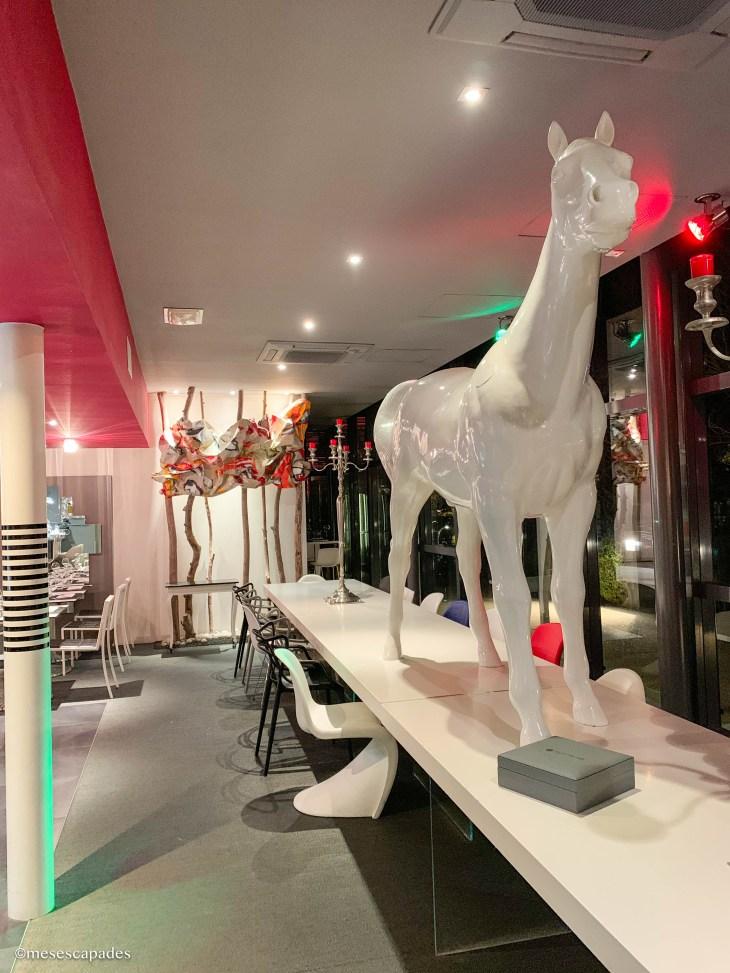 Le cheval du Lift, restaurant gourmand à Orléans