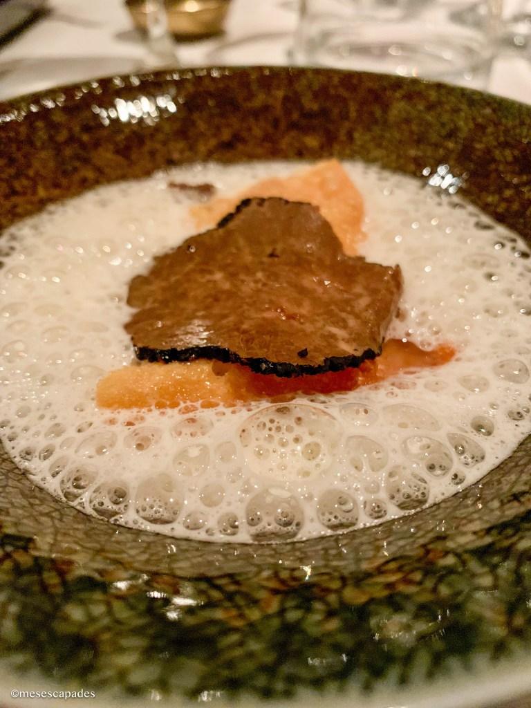 Truffe et risotto de pâtes - Le Lièvre Gourmand, Orléans