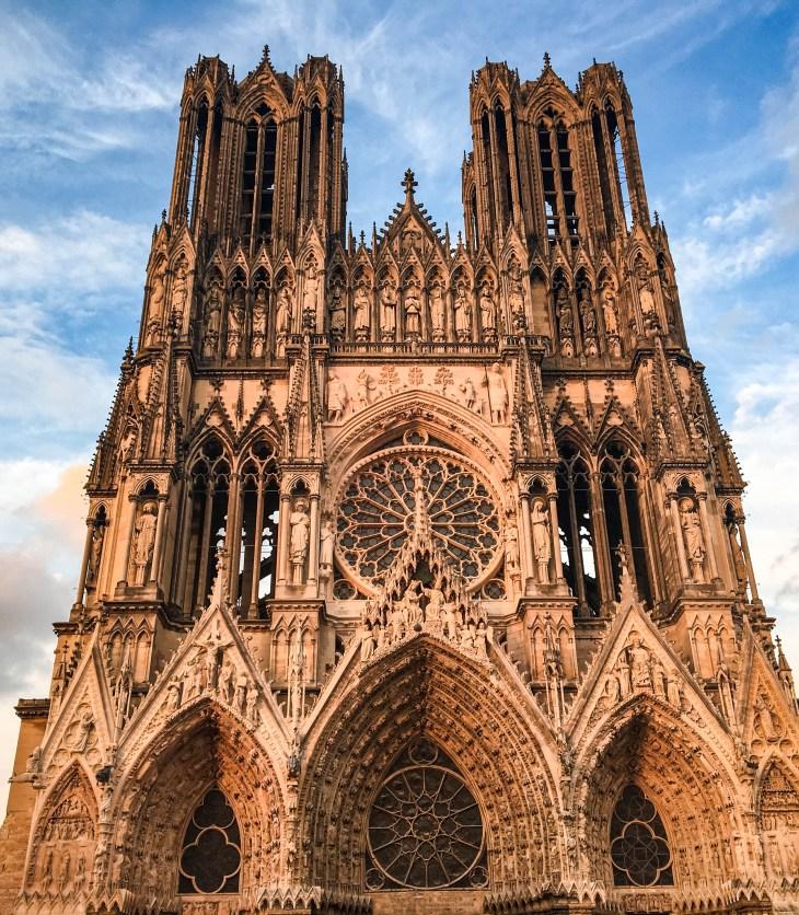 Cathédrale de Reims, weekend à Reims
