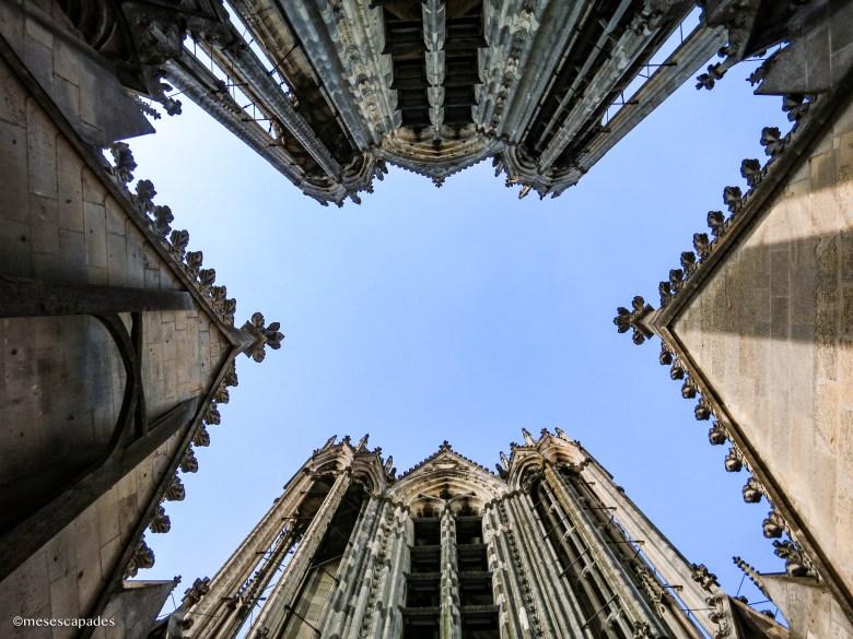 Le toit de la cathédrale de Reims