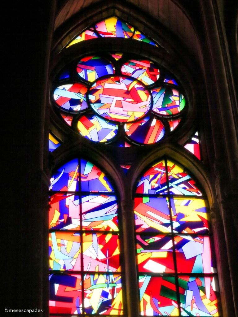 Les vitraux de la cathédrale de Reims