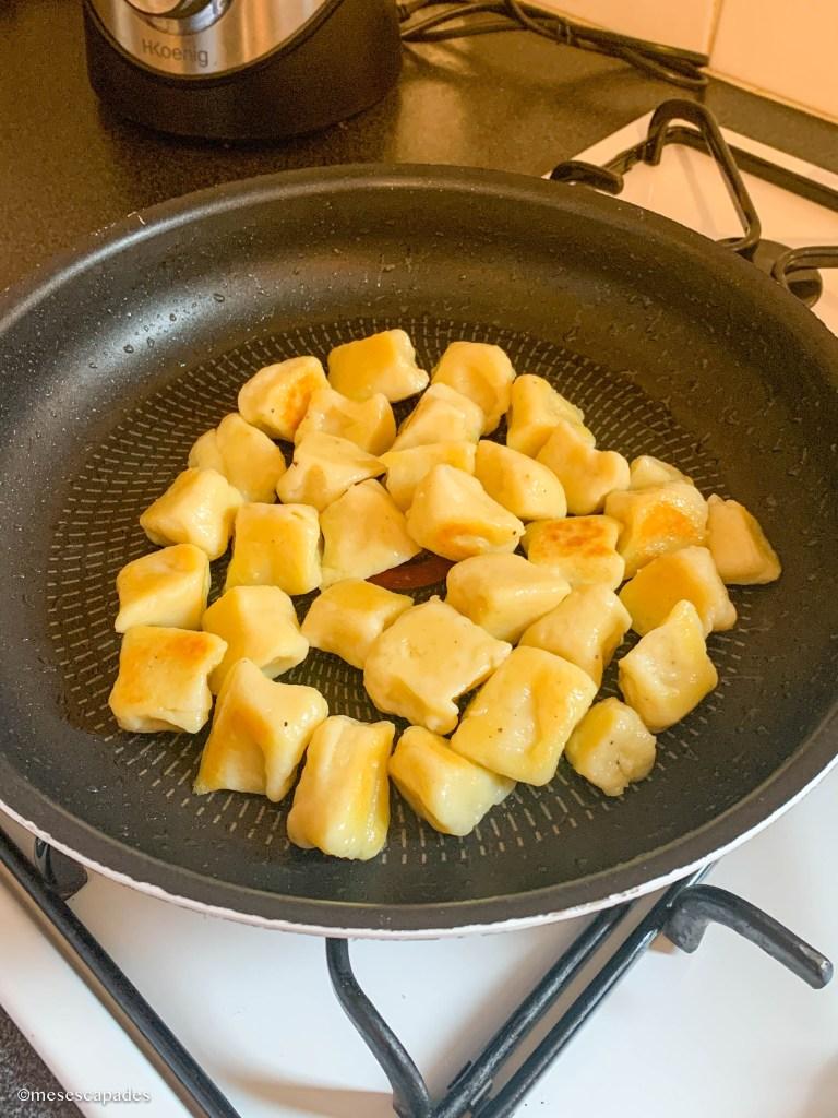 Recette gnocchis de pomme de terre