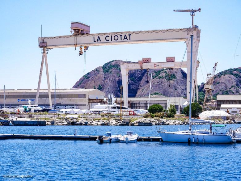 Le port de La Ciotat