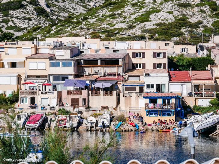 Les Goudes, calanques de Marseille