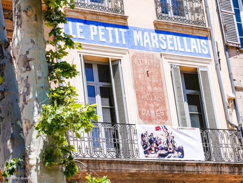 L'avenue principale d'Aix-en-Provence