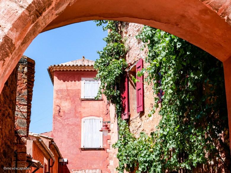 Les couleurs orangées de Roussillon