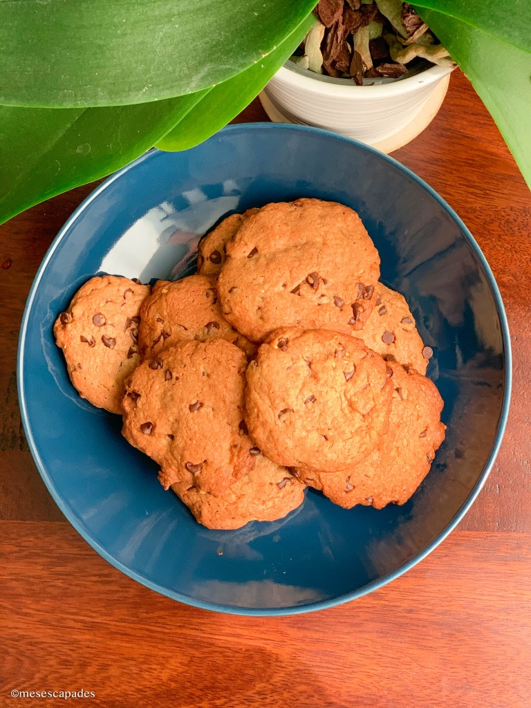 Recette des cookies au praliné