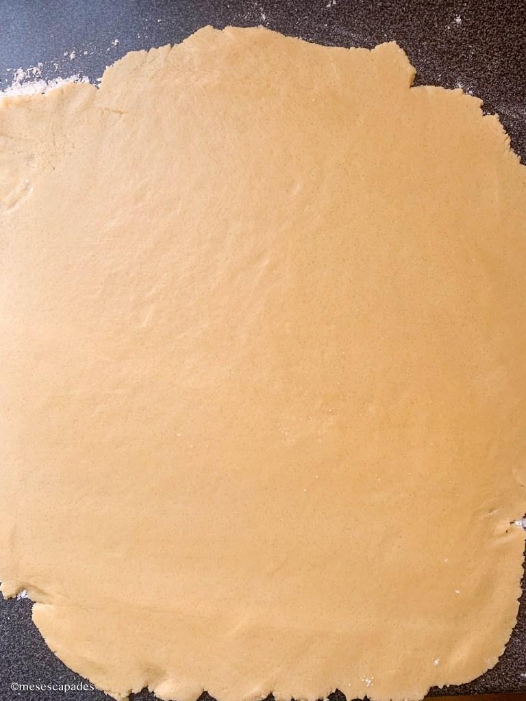 Recette de la pâte sablée