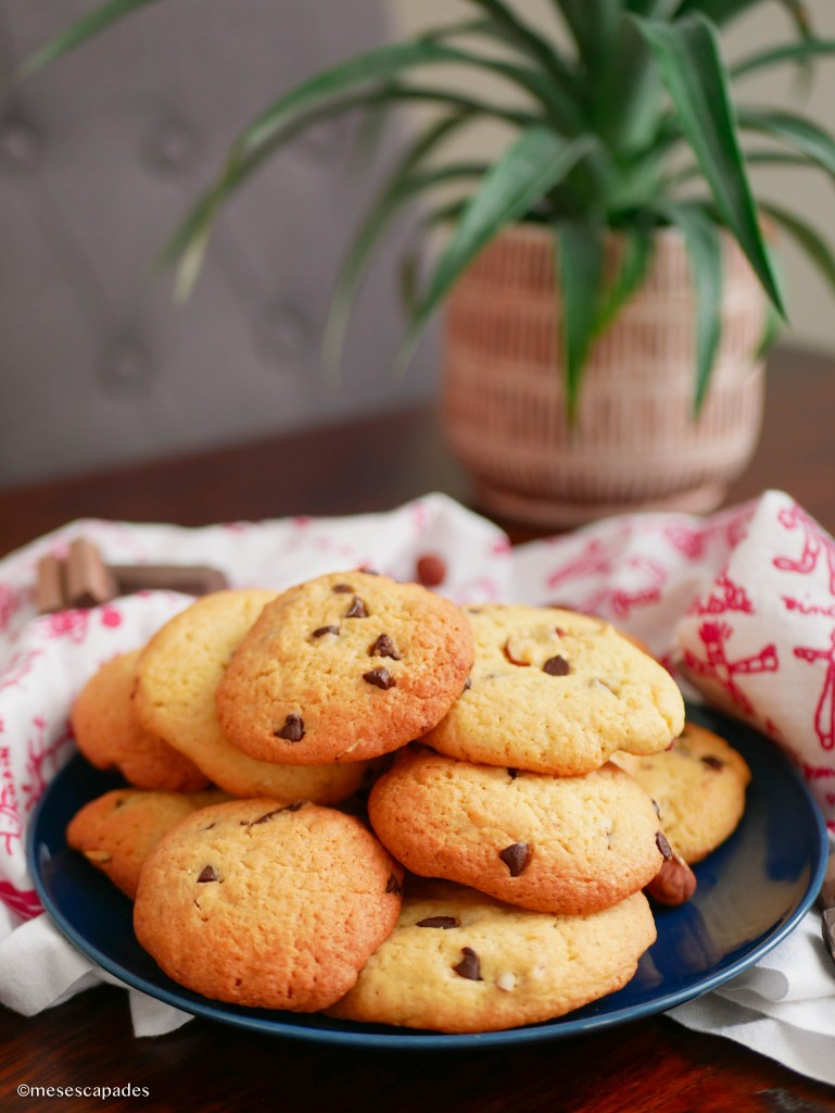 Recette de cookies chocolat et praliné