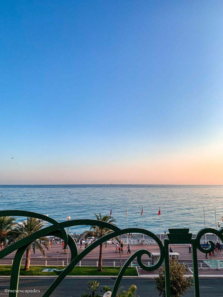 Les plus beaux points de vue sur Nice