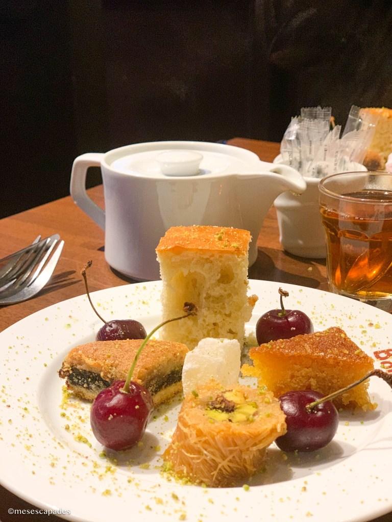 Manger libanais à Paris