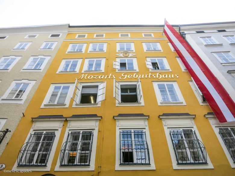 La maison d'enfance de Mozart
