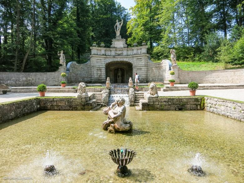 Les fontaines de Hellbrunn