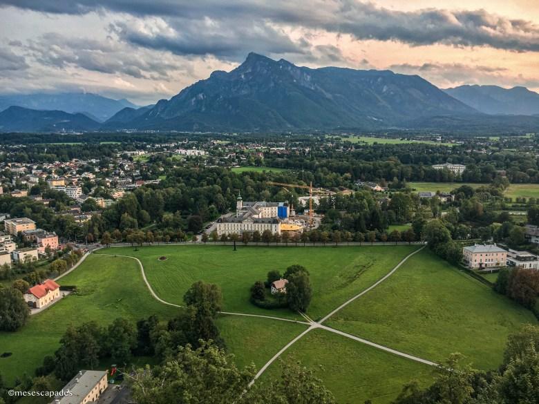 Panorama depuis la forteresse de Hohensalzburg