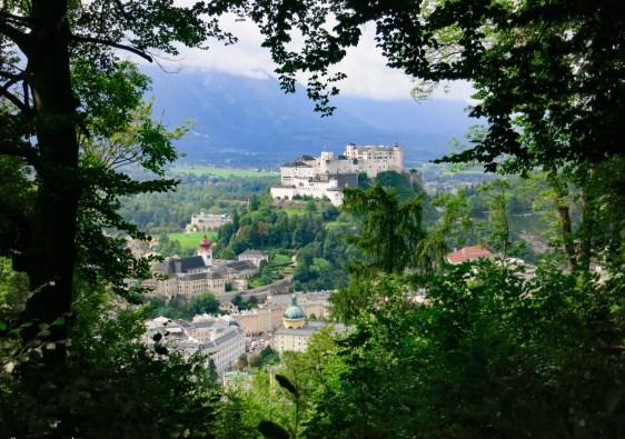 Le plus beau point de vue sur Salzbourg