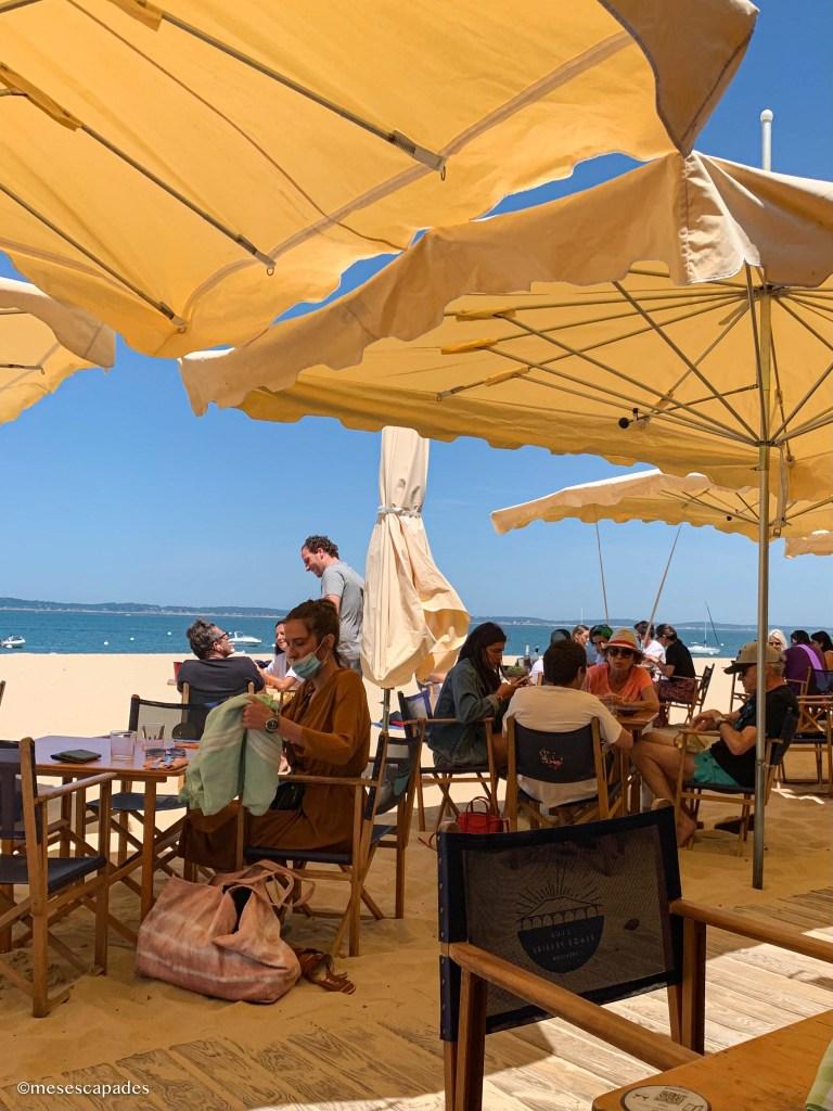 Où manger avec vue mer dans le bassin d'Arcachon