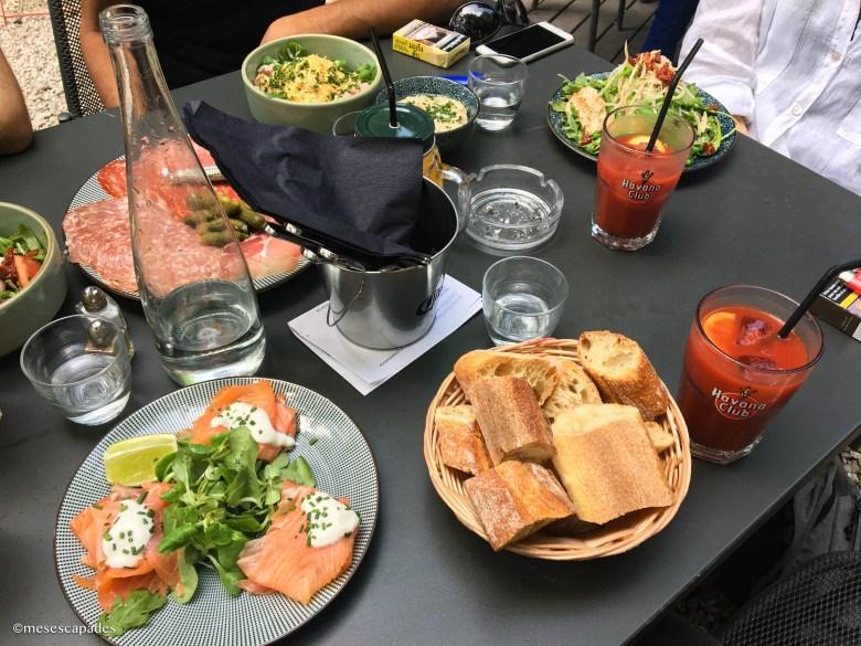 Brunch a Café A à Paris
