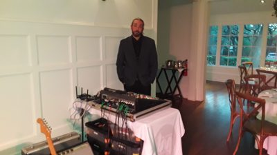 Mark Creaney Wedding Setup for Tomar and the FCs