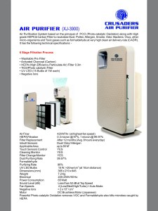 Best Air purifier in India.
