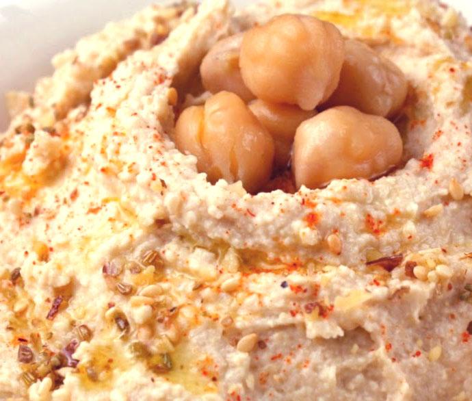 Basic hummus