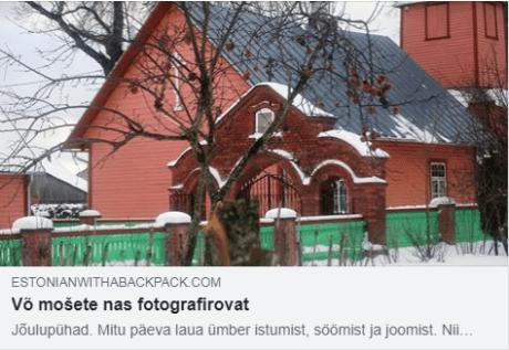 estonianwithabackpack blog 26.12.2018