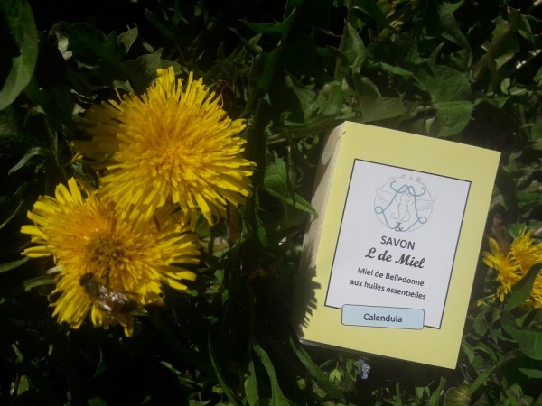 savon miel calendula ylang-ylang verveine