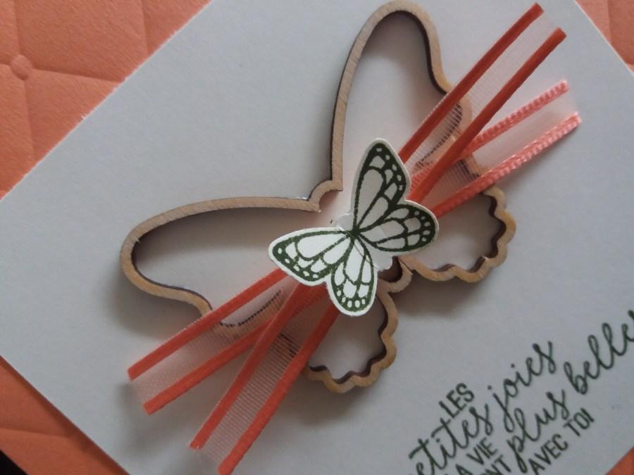 Papillons, perforatrice papillons, cadeaux sale a bration, ornements en bois