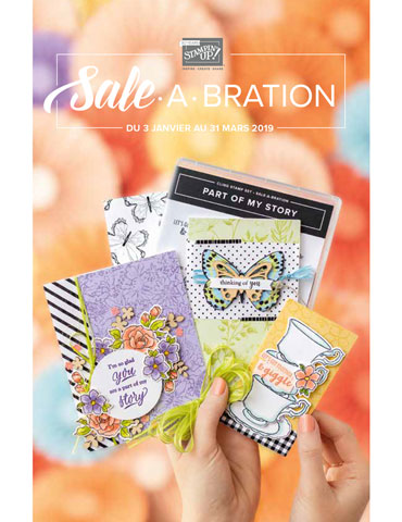Sale a bration Stampin'up!