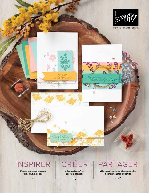 Catalogue annuel Stampin'Up!