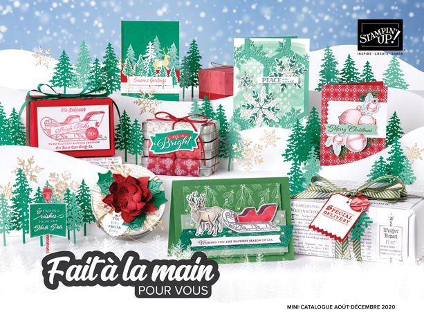 Catalogue de noel Stampin'Up!