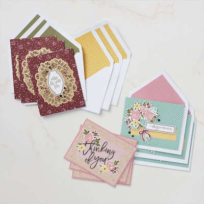 Cartes du kit paper pumpkin bouquet d'espoir