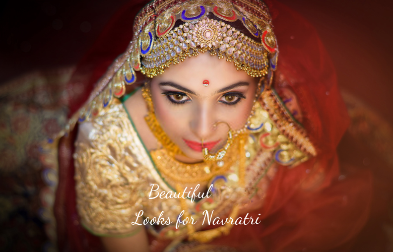 Beautiful looks for Navratri