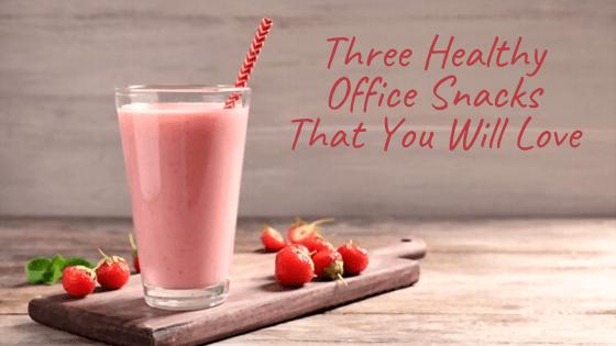 healthy office snacks