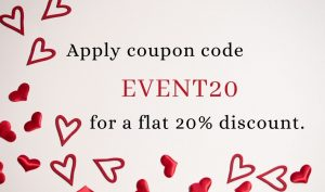 valentine's day gift coupon code Event20