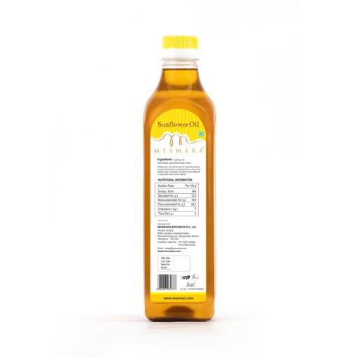 Mesmara Sunflower Oil Back