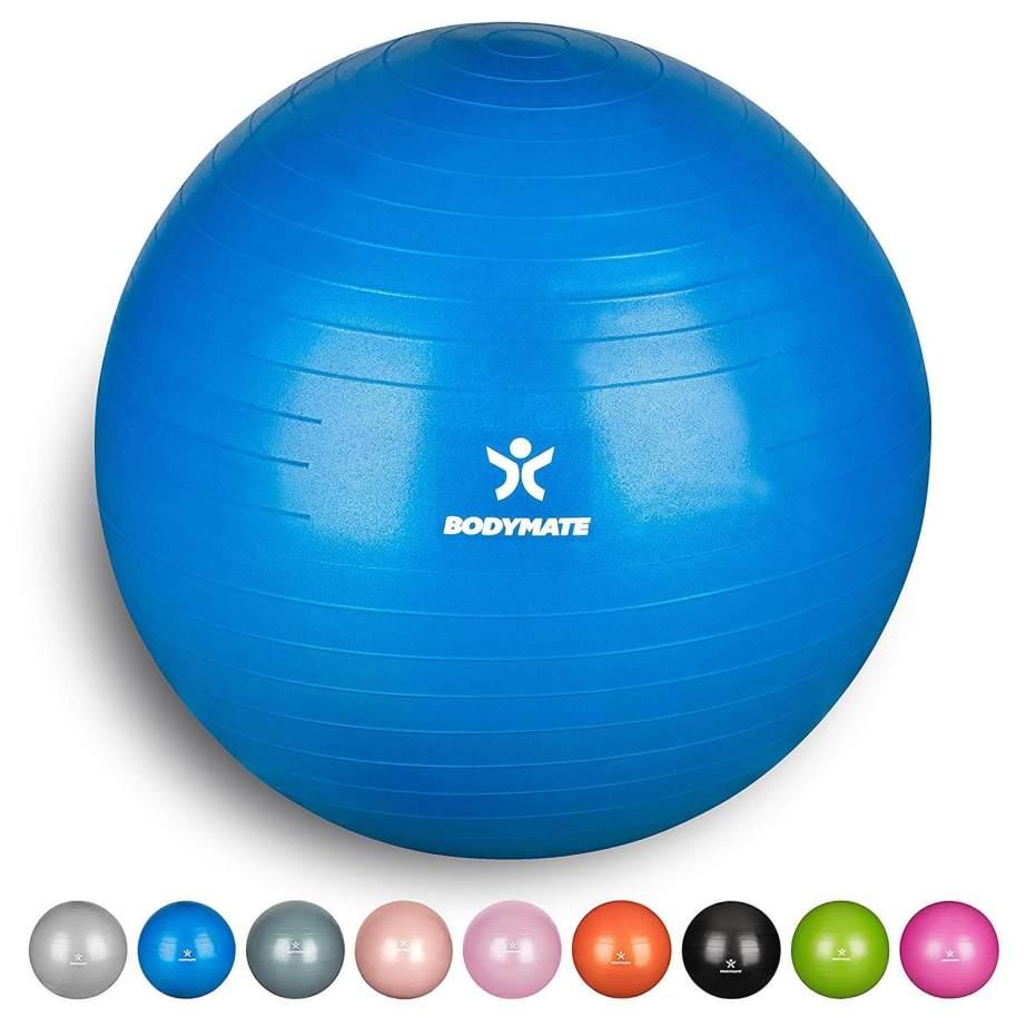 BODYMATE Ballon Fitness + Pompe Incluse