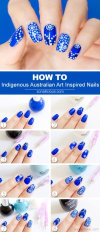 6 Easy Step by Step Nail Tutorials - Page 2 of 6 - mesning