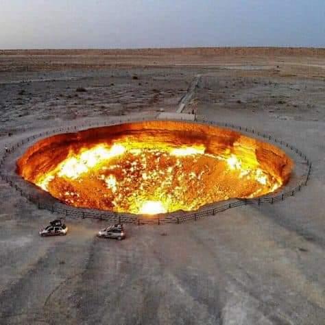 Hell's Gate in Turkmenistan