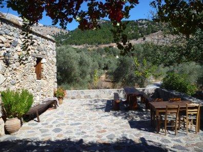 La taverne Alonia à Agios Ioannis