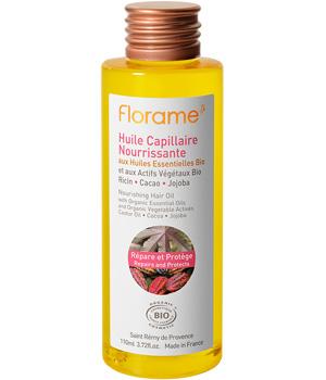 Huile capillaire nourrissante Florame