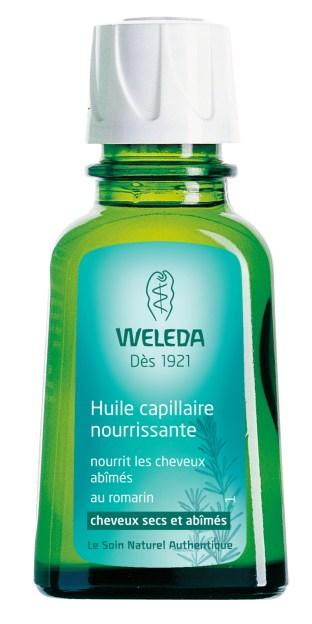 Huile capillaire nourissante Weleda