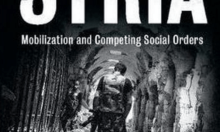 """NEWTON: """"Civil War in Syria: Mobilization and Competing Social Order"""""""