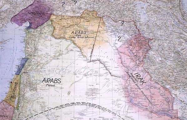 'Lines Drawn on an Empty Map': Iraq's Borders and the Legend of the Artificial State (Part 1)